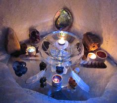 Blood Moon Altar Candlelight 4/4/2015