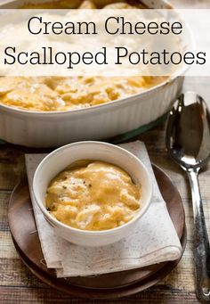 For me, figuring out the side dishes is the most difficult part of planning our holiday meals. The side dishes need to taste great and have to compliment whatever the main dish is. These potatoes a...