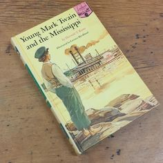 Young Mark Twain and the Mississippi by Harnett T. Krane, Random house 1966 Landmark Book Series by FeeneyFinds on Etsy