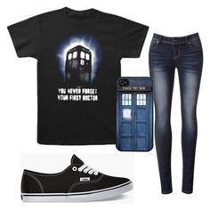 """""""Doctor Who"""" by alwaysapotter-head ❤ liked on Polyvore featuring Vans, women's clothing, women, female, woman, misses and juniors"""