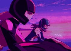 Animated gif discovered by tangibletomato. Find images and videos about gif, anime and retro on We Heart It - the app to get lost in what you love. Night Aesthetic, Aesthetic Images, Purple Aesthetic, Retro Aesthetic, Aesthetic Anime, 90 Anime, Anime Gifs, Anime Art, Vaporwave Gif