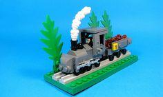 #LEGO Micro monkey train