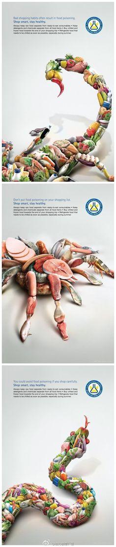 阿布扎比食品管制局创意公益平面广告 |平面广告|平面设计 - 设计佳作欣赏 - 站酷 (ZCOOL)
