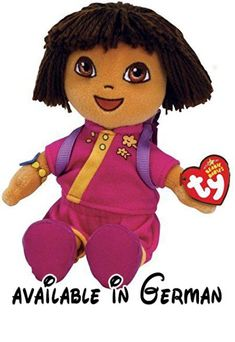 TY Beanie Babies Dora - Dora World Adventure China by Ty Beanie Babies Dora  - Dora e8b1c154ede3