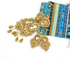 Soutache Earrings, Charmed, Instagram, Bracelets, Jewelry, Fashion, Soutache Jewelry, Moda, Jewlery