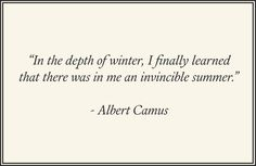 #winter #camus #winterquotes