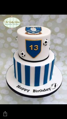 Sheffield Wednesday Birthday Cake