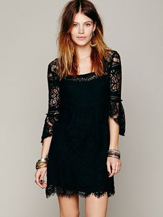 Free People Swinging 60s Dress, $118.00 Comes in white too.