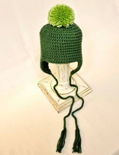 Green Baby Hat  Sale 10% Off & Free Shipping  by MerryToppers
