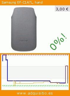 Samsung EF-C1A7L, hand (Teléfono no bloqueado). Baja 70%! Precio actual 3,00 €, el precio anterior fue de 10,16 €. https://www.adquisitio.es/samsung/ef-c1a7l-hand