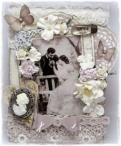 Cards made by Chantal: Vintage love....
