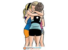 Here's a great big sweaty runner hug from me to you, it's Globally Organized Hug A Runner day! #GOHARD. Here are 5 more reasons why you should hug a runner today.