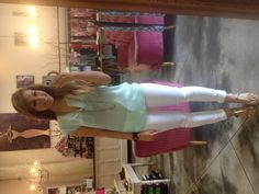 Mint, its the color of the season!  This top is gorgeous and only $89!!!!