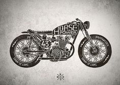 Cafe racer motorcycles by bmd design, via Flickr.