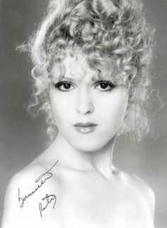 Bernadette Peters.    [Anything you can do, she can do better.  She can do anything better than you.]
