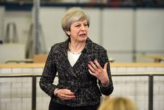 #world #news  British PM May says June election result 'not certain' despite front-runner status