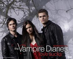 Ah, my obsession: The Vampire Diaries