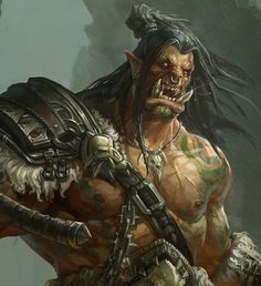 Grom·Hellscream, xingxing zhou on ArtStation at https://www.artstation.com/artwork/grom-hellscream-0881a7bd-8996-4911-a595-59f65e322850