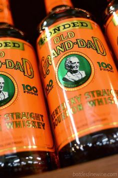 Old Grand Dad Bottled in Bond Bourbon Whiskey - great bourbon under $20!