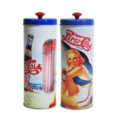 Porta Canudos Pepsi Pin Up  http://loja.fulanaguacu.com.br