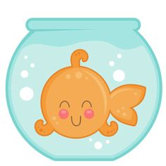 Miss Kate Cutables freebie of the day Goldfish In Bowl SVG cut files for cricut silhouette pazzels free svgs free svg cuts cute cut files * Cute Clipart, Clipart Images, Belly Painting, Clip Art, Cute Cuts, Cute Images, Baby Quilts, Crib Quilts, Cute Illustration