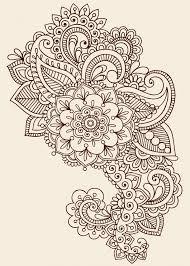 Znalezione obrazy dla zapytania african flowers tattoo