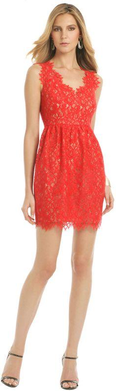 Shoshanna Lace Sierra Dress on shopstyle.com