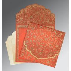 Hindu Wedding Cards - AW-8211F