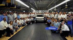 Volkswagen Passat No. 500,000 MADE IN USA - http://autoproyecto.com/novedad/volkswagen-passat-no-500000-made-in-usa.html?utm_source=PN&utm_medium=Pinterest+AP&utm_campaign=SNAP