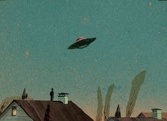 """ufo-the-truth-is-out-there: """"From Memoires of a Suburban Utopia: by Anton Van Hertbruggen """" Alien Aesthetic, Aesthetic Vintage, Aesthetic Photo, Aesthetic Pictures, Vaporwave, Ufo, Anton Van, By Any Means Necessary, Belle Photo"""