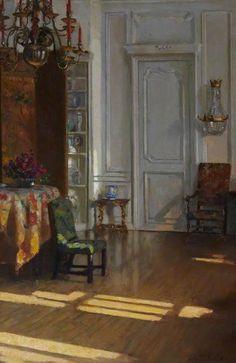 Drawing Room, Hyndford, North Berwick (1910), Patrick William Adam