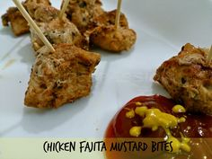Chicken Fajita Mustard Bites One of the best lunch idea and above all it's a best kid's friendly recipe. Once you make, refrigerate, or store them, these can be easily taken as it is as a snack or in sandwiches, salads, burgers or Pizzas