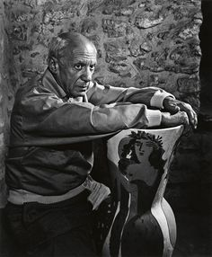 Yousuf Karsh, Portrait of Pablo Picasso Pablo Picasso Quotes, Pablo Picasso Drawings, Picasso Art, Picasso Paintings, Oil Paintings, Landscape Paintings, Mougins France, Oil Painting Abstract, Watercolor Artists