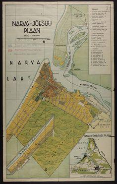 Narva-Jõesuu linna plaan (1935)