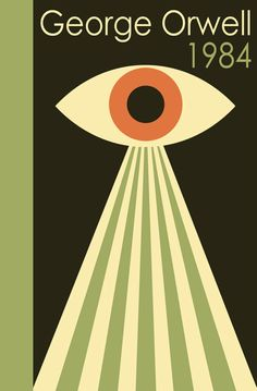 Buy Nineteen Eighty-Four, 1984 by George Orwell and Read this Book on Kobo's Free Apps. Discover Kobo's Vast Collection of Ebooks and Audiobooks Today - Over 4 Million Titles! George Orwell, Book Cover Art, Book Art, Book Covers, Best Book Cover Design, Good Books, My Books, Nineteen Eighty Four, Tv Movie
