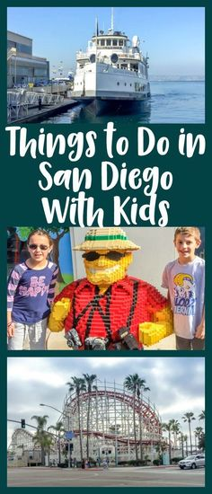 San Diego CA is a great spot for your next family vacation. Check out our favorite things to do in San Diego with kids including LegoLand California the San Diego Zoo amusement parks beaches restaurants and more! Legoland California, California Vacation, California Destinations, Mexico Vacation, San Diego Vacation, San Diego Travel, San Diego Zoo, New Travel, Travel With Kids