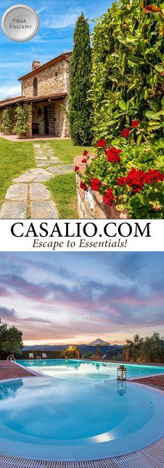 Villa Vallano || Italy - Tuscany || Province of Pistoia, 6-8…