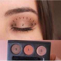 Eye Makeup Steps, Makeup Eye Looks, Eye Makeup Art, Simple Eye Makeup, Smokey Eye Makeup, Makeup Geek, Skin Makeup, Eyeshadow Makeup, Beauty Makeup