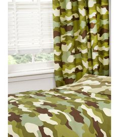 Army Camouflage Lined Curtains. These curtains are wide and are available with or drops or Camo Curtains, Boys Bedroom Curtains, Lined Curtains, Military Bedroom, Army Bedroom, Camo Rooms, Army Decor, Army Camouflage, Home Remodeling Diy