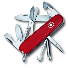 Victorinox Swiss Army Super Tinker Pocket Knife,$19.97. For my boy.