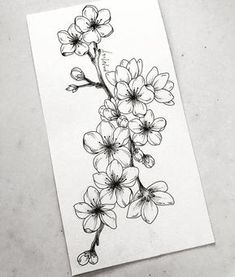 Learn To Draw A Realistic Rose cherryblossom Draw learn realistic Rose flowertattoos # Realistic Flower Drawing, Simple Flower Drawing, Easy Flower Drawings, Beautiful Flower Drawings, Flower Sketches, Floral Drawing, Pencil Art Drawings, Tattoo Drawings, Drawing Flowers