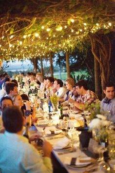 Dreamy wedding lights
