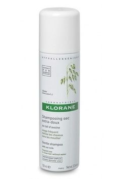 Klorane Dry Shampoo with Oat Milk | 17 French Drugstore Beauty Products That Actually Work