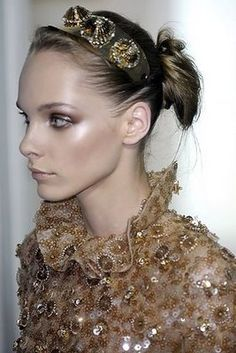 Valentino Couture Headband.