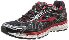 004c86345e6 Men s Brooks Adrenaline GTS 15 Running Shoe Black Red Anthracite Size 14 M  US The new Adrenaline GTS 15 men s running shoe takes equal parts support