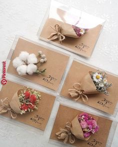 Happy Birthday (with tiny paper flower bouquet)No automatic alt text available. Creative Gift Wrapping, Creative Gifts, Craft Gifts, Diy Gifts, Corporate Gift Baskets, Gift Wraping, Best Birthday Gifts, Inspirational Gifts, Flower Cards