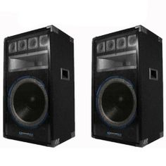 """Technical Pro PVRTX15U Powered Speaker and VRTX15 MP3 USB 1200W New PVRTX15UVRTX by Technical Pro. $314.99. SpecificationsPVRT15U1200 watts peak powerBuilt-in amplifierInputs: RCA, USB and MP3Powered (Active) output: BananaMicrophone Inputs: 1/4"""" (2)Microphone volume and echo controlsWoofer: 15"""" woofer, 2.5"""" voice coil, 50 oz. magnetMid: 5"""" x 15"""" horn, compression driver 1.5"""" voice coil 25 oz. magnetTweeter: 4 piezoBuilt-in 7 band equalizerSound meterBass, treble and volum..."""