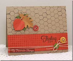 Fine Check Background, Mini Chicken Wire Background, Out on a Limb, Falling Leaves Die-namics - Barbara Anders #mftstamps