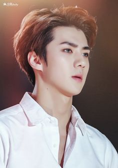 Find images and videos about kpop, exo and sehun on We Heart It - the app to get lost in what you love. Chanyeol Baekhyun, Exo Kai, Sehun Hot, Kpop Exo, Kris Wu, Jonghyun, Shinee, Rapper, Z Cam