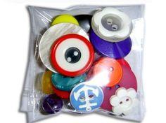 DIY Button Ring Kit par sewbettie sur Etsy